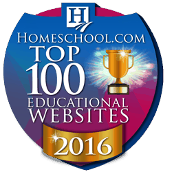 One of Homeschool.com's top 100 for 2016