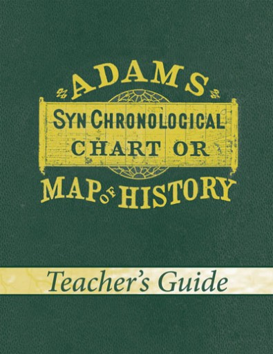 Adams' Chart of History (Teacher's Guide)