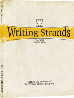 Writing Strands: Teacher Companion